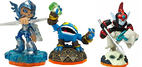 Skylanders Giants: Three (3) Characters Team Pack Core Series 2 - Chill, Fright Rider and Pop Fizz