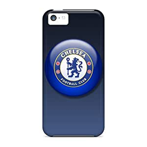 Protective Tpu Case With Fashion Design For Iphone 5c (chelsea Fc)
