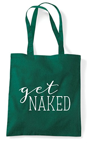 Statement Get Shopper Green Tote Bag Naked Dark acvWzqFw