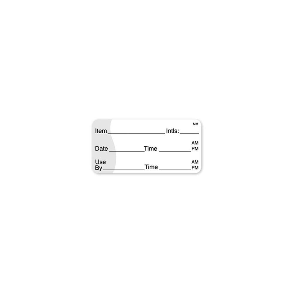 DayMark 110117 MoveMark 2 x 1 Shelf Life Label - 1000 / RL