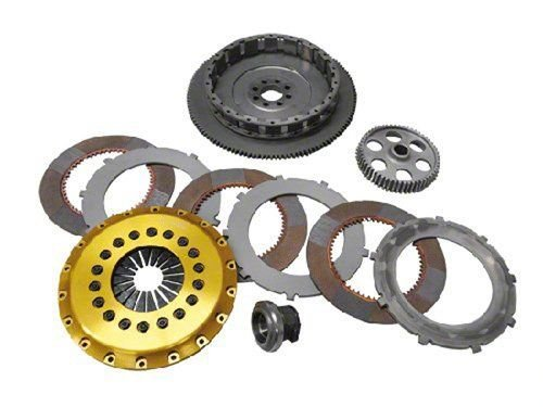 OS Giken NS112-CH5 Clutch(Nissan 350Z/370Z Vq35Hr R Series Triple Plate with Floating Center Hub) -