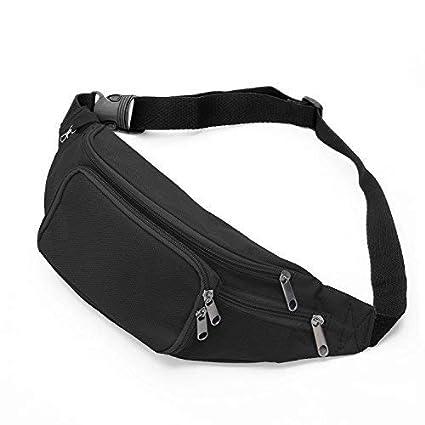 SAVFY Bum Waist Bag -   4 Zipper Pockets   Waist Travel Hiking Outdoor  Sport Bum bb866ece6e