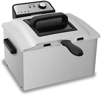 Inventum GF750S - Freidora (Freidora, 5 L, 190 °C, Doble, Acero ...