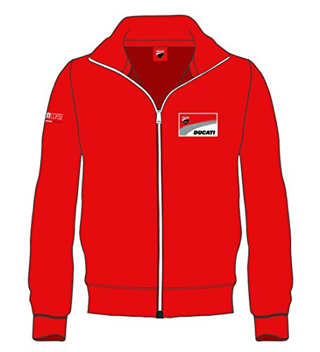 Hombre nbsp;sudadera Logo L 1726001 Rojo Ducati Pritelli E8qAS7ct