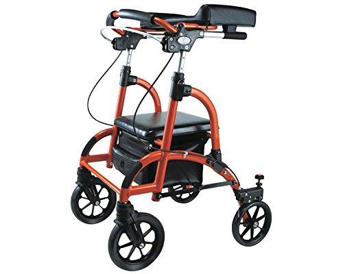 歩行車 friend(フレンド) オレンジ WF-1 (ウェルパートナーズ) (歩行器) B01MQ08UR2