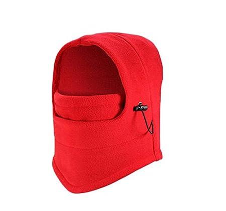 Liroyal Cagoule coupe-vent en molleton thermique pour le ski et le cyclisme, noir 1 HeroNeo® B00HC7XU7E SHOMPFL1860