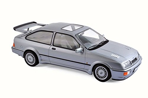 Norev 1986 Ford Sierra RS Cosworth, Gray 182770-1/18 Scale Diecast Model Toy Car