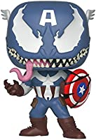 Funko Figure Pop Marvel Venom Captain America , Multicolor