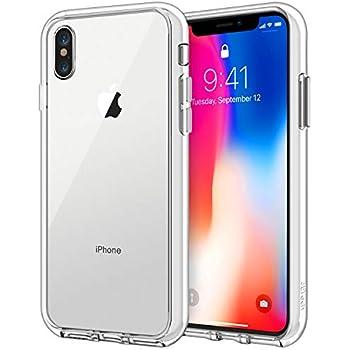 JETech Funda para Apple iPhone X iPhone 10, Carcasa Bumper, Shock-Absorción y Anti-Arañazos (HD Clara)