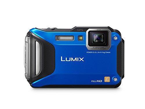 Panasonic DMC-TS6A LUMIX WiFi Enabled Tough Adventure Camera (Blue)