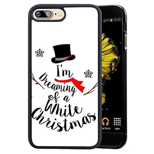 Snowman Cell Phone Case for iPhone 8 Plus 7 Plus (5.5 Version)