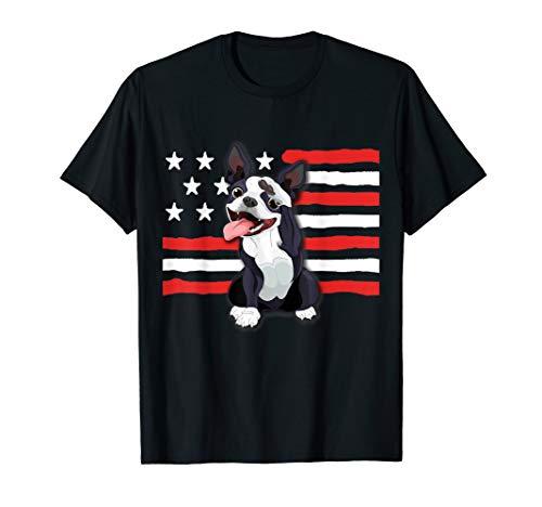 Patriotic Boston Terrier, Celebrate USA Shirt