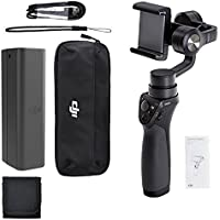 DJI Phone Camera Gimbal OSMO MOBILE, Polaroid Memory Card Wallet and Accessory Bundle