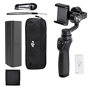 DJI Phone Camera Gimbal OSMO MOBILE, Polaroid Memory Card Wallet and Accessory Bundle