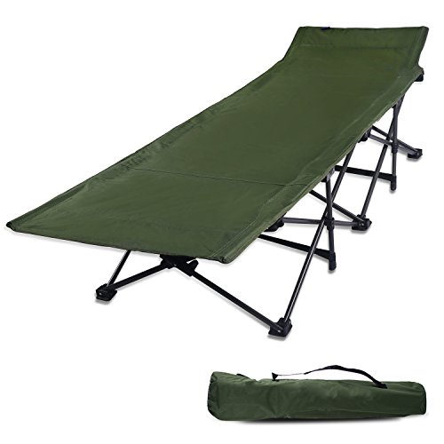 REDCAMP Camping Cots for Adults, Easy and Portable - Camping Made Easy