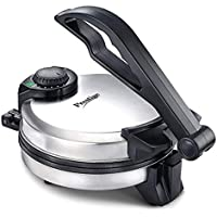 Prestige Xclusive Stainless Steel PRM 5.0 Roti Maker with Demo CD (Silver)