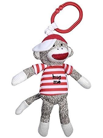 Amazon Com Sock Monkey Play Time Stuffed Animal By Baby Starters