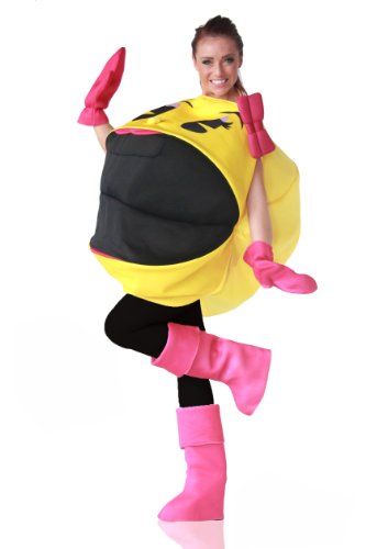 Ms Pac Man Costume (InCogneato Adult Ms. Pac-Man 3D Costume)