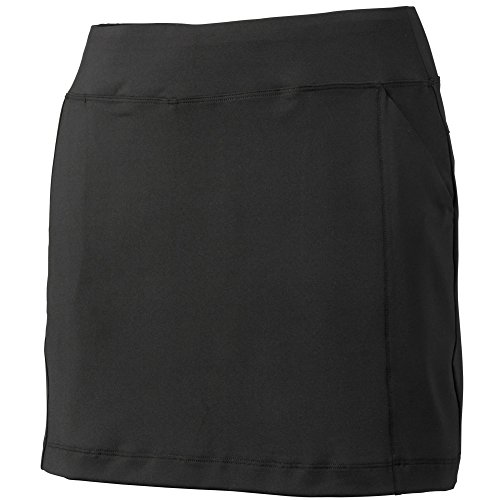 Tehama Ladies Basic Knit Skort Black L (Womens Basic Skort)