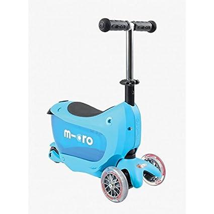 Patinete Micro mini2go, azul: Amazon.es: Deportes y aire libre