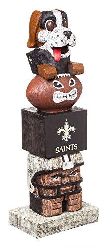 - Team Sports America NFL New Orleans Saints Tiki Totem