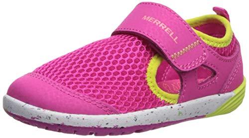 Edge Merrell Womens - Merrell Bare Steps H20 Sneaker Little Kid 9 Pink