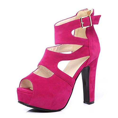 Soirée carrière femmes Peep Black Pearl Chaussures Printemps Confort boucle Nouveauté Toe pour Été talon Party bureau PU sandales de ZHZNVX xwAECqTZC