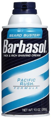 Barbasol Pacific Rush Shaving Cream, Size : 10 Oz