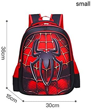 "Marvel Spiderman 15/"" Little Boys PreK School Backpack Book bag Kids Avengers Red"