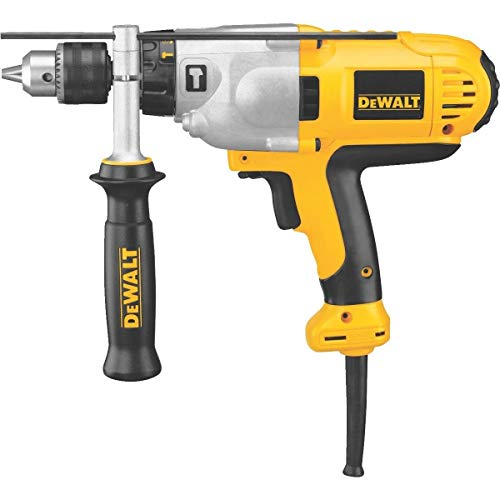 DeWalt 1/2 In. VSR Mid-Handle Grip Electric Hammer Drill - DWD525K