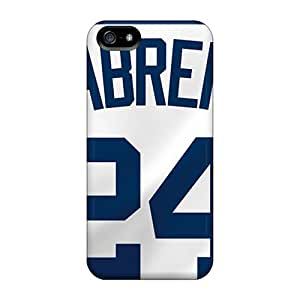 Shockproof Hard Cell-phone Cases For Iphone 5/5s (DTw5364ZjeP) Allow Personal Design High Resolution Detroit Tigers Series