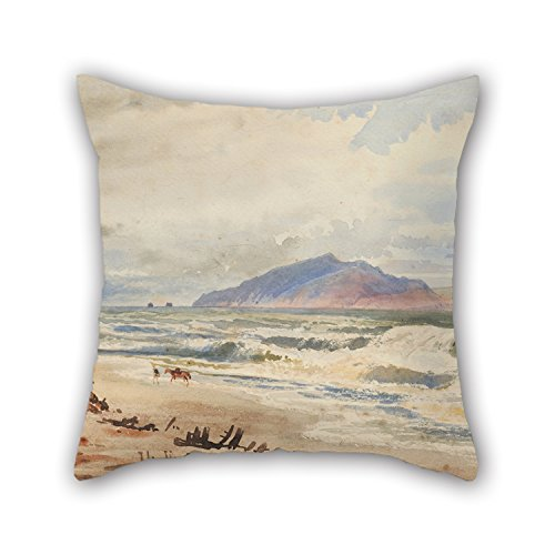 [Beautifulseason The Oil Painting Nicholas Chevalier - Kapiti Throw Cushion Covers Of ,18 X 18 Inches / 45 By 45 Cm Decoration,gift For Outdoor,car Seat,him,husband,dining Room,floor (twin] (Audreys Costume Castle)