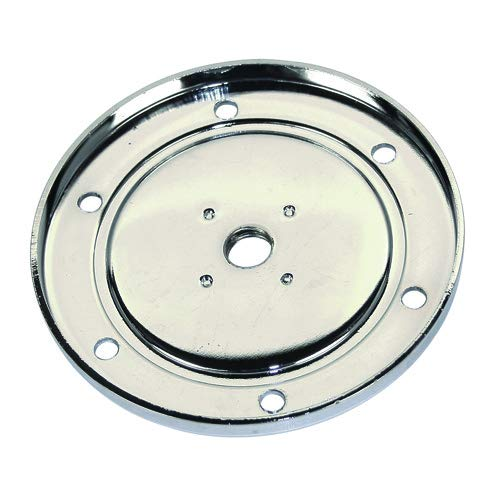 Oil Drain Plate - Chrome Oil Sump Drain Plate, Fits All Aircooled VW, No Plug Compatible with VW & Dune Buggy