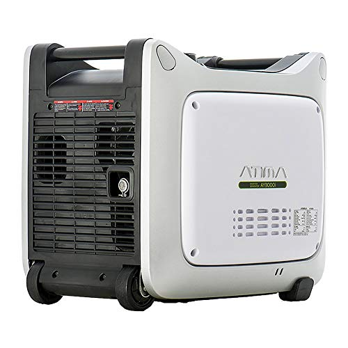 Atima Small & Quiet Portable Inverter Generator, Gas Powered Yamaha Engine for RV Camping or Home Use (3000 watts)