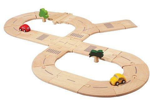 PlanToys PlanCity Road System Standard