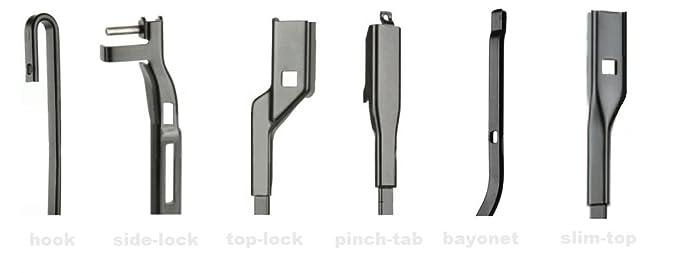 HEYNER HH2616MULTI - Limpiaparabrisas de alta calidad híbrido de 66 cm y 40 cm: Amazon.es: Coche y moto