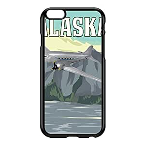 Alaska Black Hard Plastic Case for iPhone 6 Plus by Nick Greenaway + FREE Crystal Clear Screen Protector