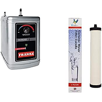 Franke HT-300 Water Dispenser Hot Water Tank with Ultracarb Ceramic Water Filter