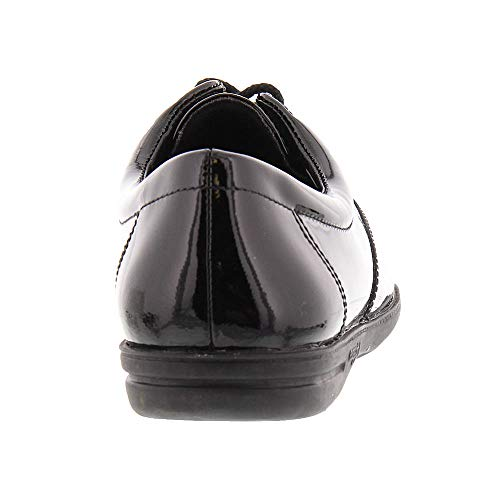 Motion Easy up Spirit patent Sneaker Women's Sport Lace Black EErUqC4