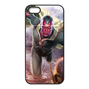 iPhone 5 5s Cell Phone Case Black Vision vs Ultron Swarm Eougu