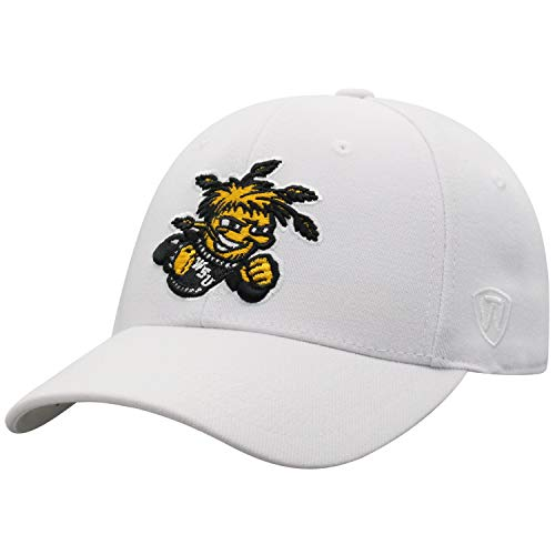 Top of the World Wichita State Shockers Men's Memory Fit Hat Icon, White, One Fit