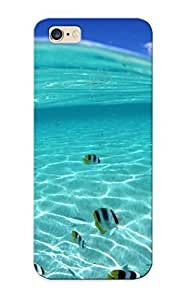 Ideal Inthebeauty Case Cover For Iphone 6 Plus(ocean Fish Splitview Sea ), Protective Stylish Case by ruishername