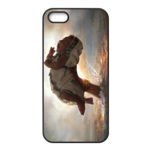 Baahubali Movie First Look coque iPhone 4 4S cellulaire cas coque de téléphone cas téléphone cellulaire noir couvercle EEEXLKNBC23287