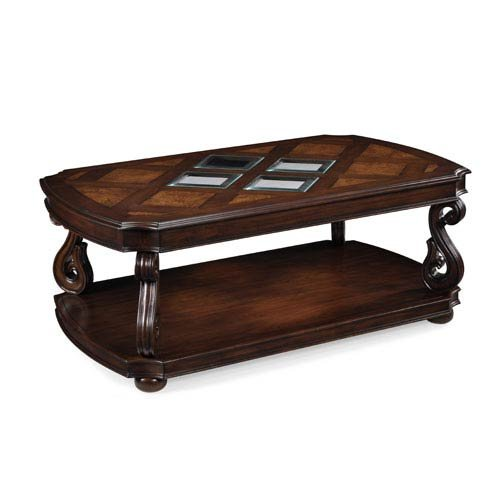 Magnussen T1648-43 Harcourt Cherry Finish Wood Rectangular Cocktail Table