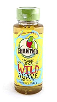 Review Chantico Agave Sweetener (Wild Agave, 3 Pack of 11.75oz Bottles) Organic Natural Sugar Substitute with a Low Glycemic Index and a Premium Food Taste - Stevia Alternative and Honey Replacement
