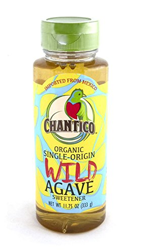 - Chantico Agave Sweetener (Wild Agave, 2 Pack of 11.75oz Bottles) Organic Natural Sugar Substitute with a Low Glycemic Index and a Premium Food Taste - Stevia Alternative and Honey Replacement