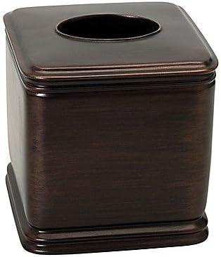 Amazon Com India Ink Winston Boutique Tissue Box Cover In Oil Rubbed Bronze Home Kitchen