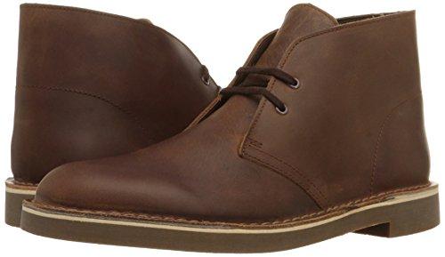 Clarks Men's Bushacre 2 Desert Boot,Dark Brown,12 M US