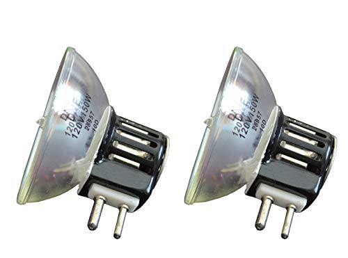 2pcs DNE Donar Bulb RM-120 for Nikon Zoomstar Colposcope Zoomscope 70999 100L - Montgomery Ward 830 8mm Projector Movie - Leitz 906009 - Dolan Jenner 145 Colposcope ZM-11 Seiler Lamp