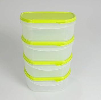 Tupperware Frische Box 4 Kühlen Kühlschrank Grün Frischekabinett